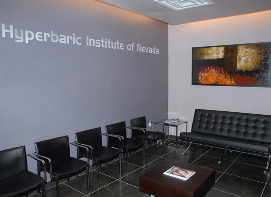 Lobby | Hyperbaric Institute of Nevada